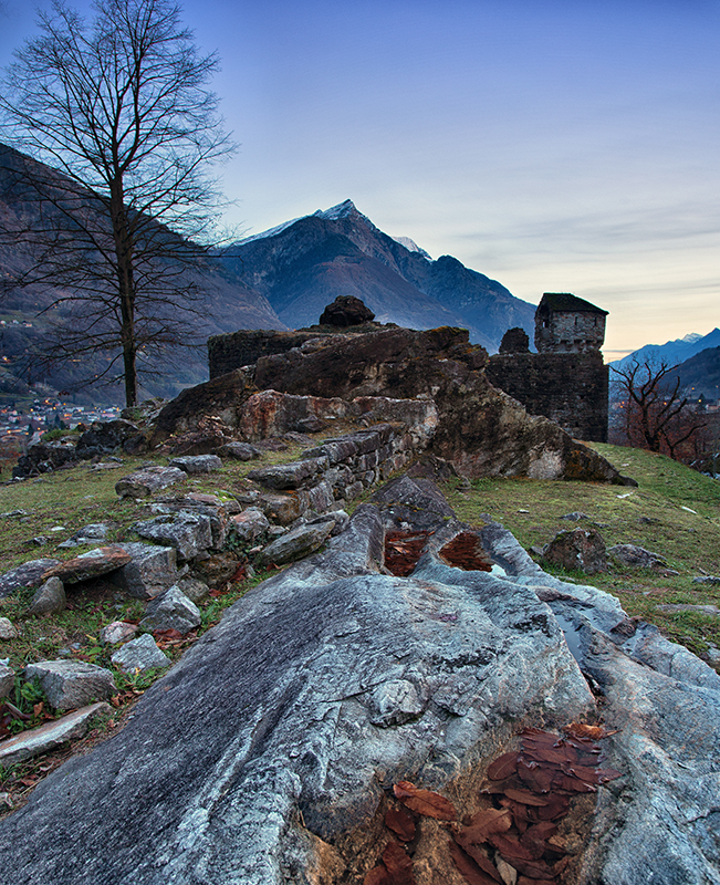 Castello di Serravalle - Valle di Blenio. Ticino (Svizzera)