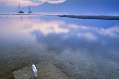 Titolo - Barche al tramonto -  Germignaga (VA)