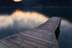 Titolo:  Dal pontile di Brusimpiano - Lago di Lugano (VA)