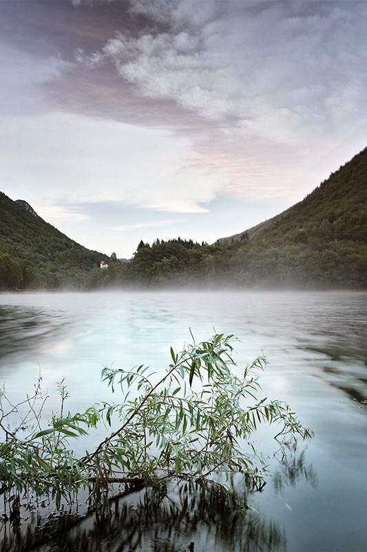 """""""Lago di Ghirla all'alba"""""""
